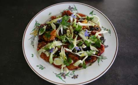 Salade sicilienne aux oranges sanguines