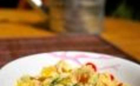 Curry de lotte au lait de coco (sénégalais)