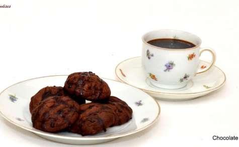 Cookies au Chocolat mentholé de Nigella..