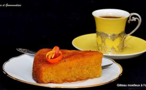 Gâteau moelleux à l'orange.