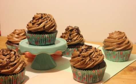 Cupcakes menthe et chocolat
