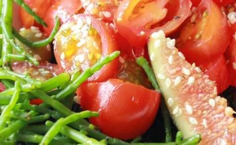 Salade au riz nérone