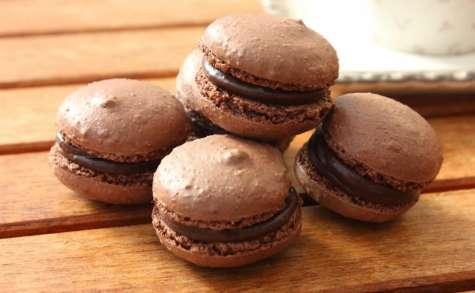 Macarons au chocolat à l'italienne