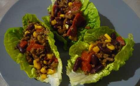 Tacos salade