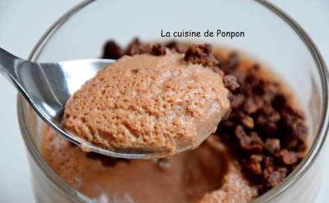 Crème à la pâte à tartiner au chocolat