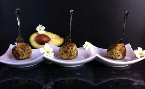 Croquettes de quinoa au fromage et coeur d'avocat - NathyChef