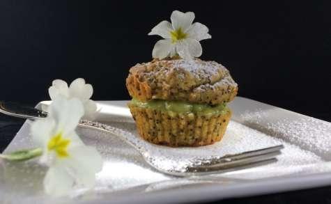 Cupcake avocat pavot et crème d'avocat - NathyChef