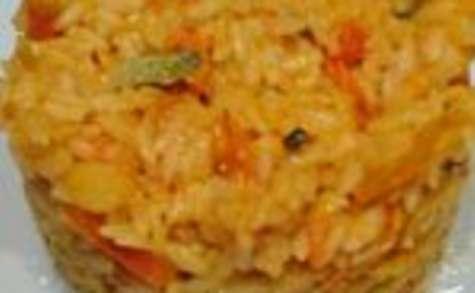 Riz et carottes aux épices cookeo