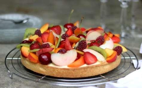 La tarte aux fruits d'été