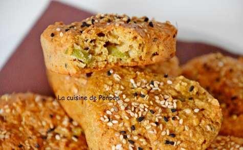 Petits pains à la farine de graines germées, sans beurre - La cuisine de Ponpon: rapide et facile!