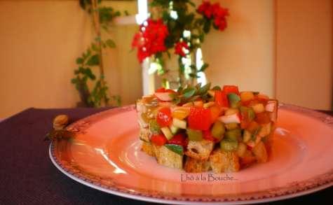 Tartare de légumes croquants