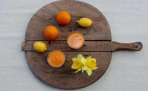 Jus de carotte, poire, orange & citron