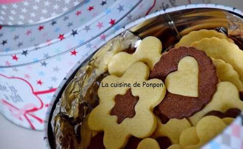Biscuit vanille chocolat - La cuisine de Ponpon: rapide et facile!