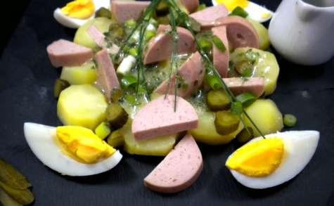 Comme au bistrot : salade de cervelas et pommes de terre