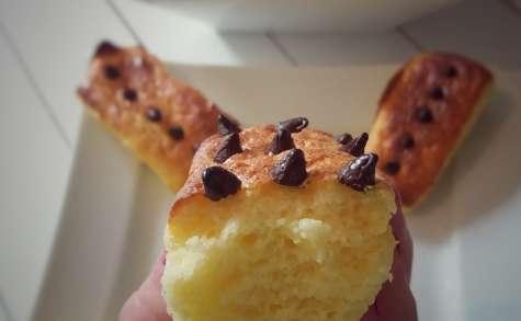 Gâteaux semoule aux pépites de chocolat (weight watchers)