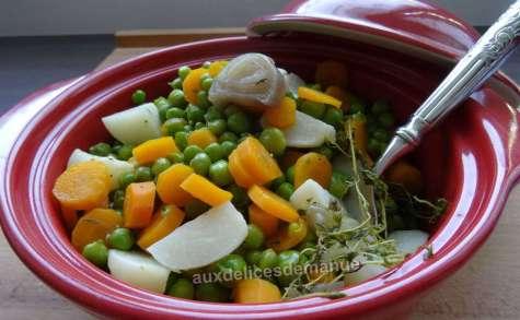Jardinière de légumes primeurs