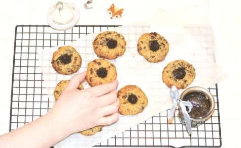 Cookies chocolat, noisette-sésame