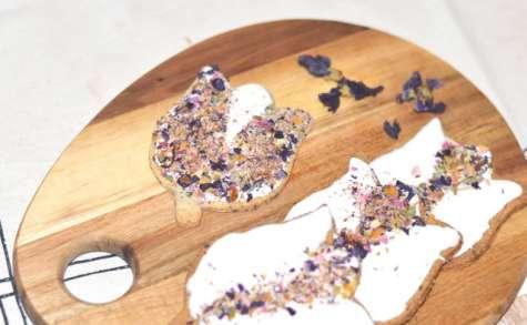 Biscuits aux fleurs