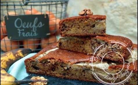 Banana bread aux noix et pépites de chocolat de Martha Stewart