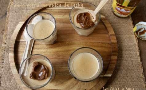 Panna cotta au dulce de leche