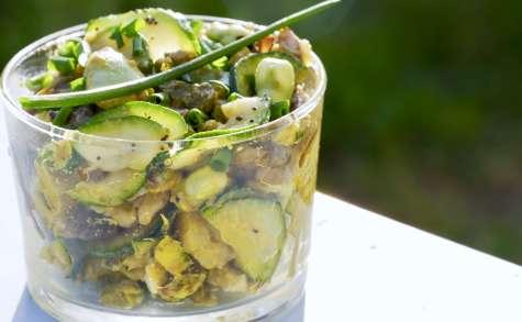 Recette alcaline polyvalente de fèves et légumes