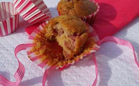 Muffins fraise-citron