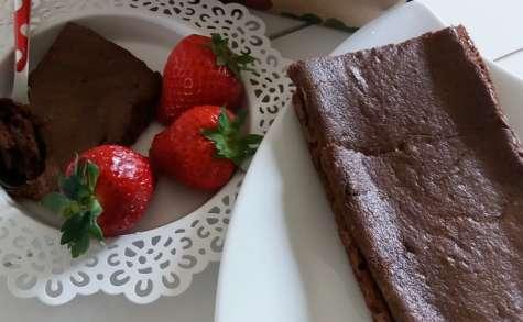 Gâteau au chocolat au tofu soyeux