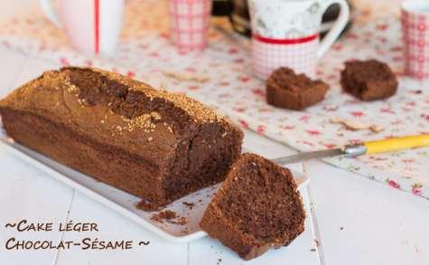 Cake léger chocolat noir & sésame