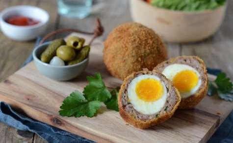 Oeufs écossais, scotch eggs