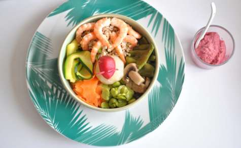 Salade bowl composée