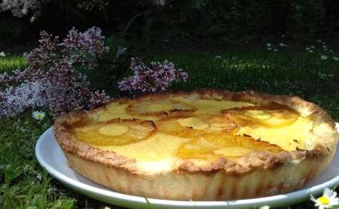 tarte des îles ananas coco - au cochon heureux !