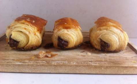 Mini petits pains au chocolat au lait - NathyChef