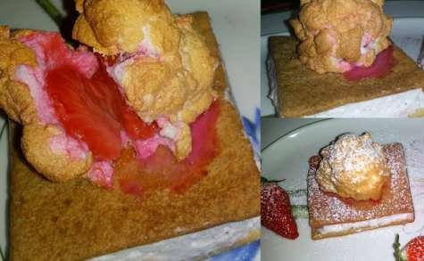 Gâteaux à la Fraise meringuée