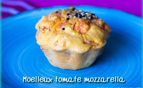 Moelleux tomate mozzarella