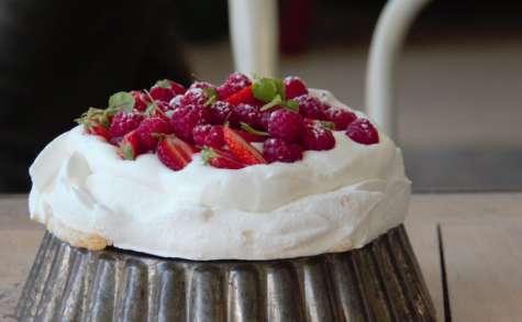 Pavlova fraise / framboise