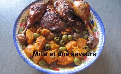 Poulet olives au cookéo