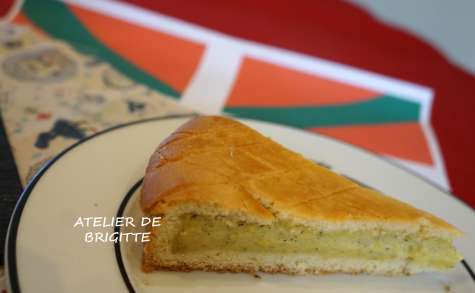 Gâteau Basque traditionnel