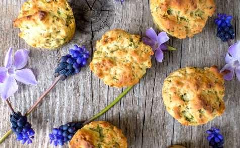 Muffin salé à la roquette #vegan