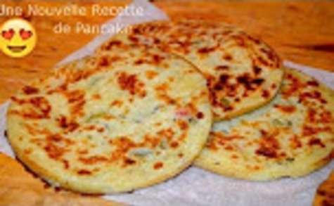 Une recette astucieuse de crêpe façon pancake farci