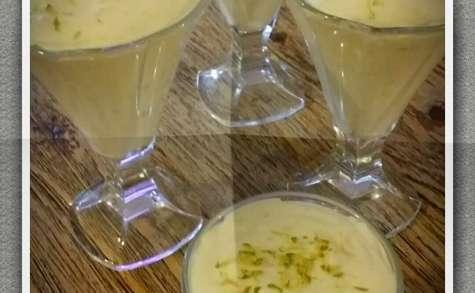 Mousse de citron vert