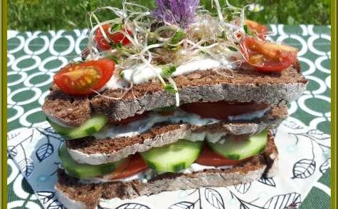 Sandwich Crudités
