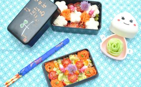 Bento fleurs