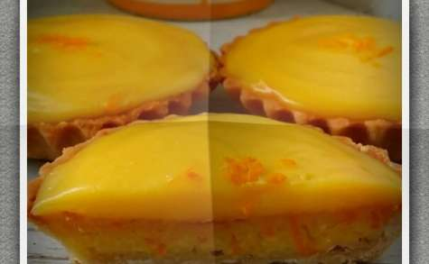 Tarte scandaleuse à l'orange