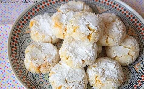 Ghriba aux amandes & noix de coco