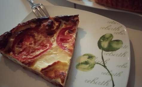 Quiche sans pâte thon, tomate et feta