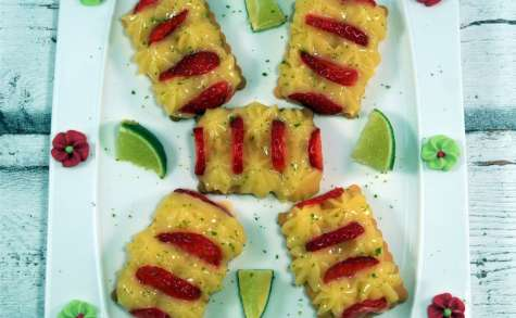 Tartelettes Mojito fraise