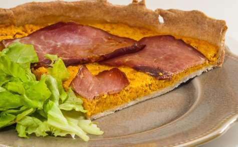 Tarte carottes et bacon
