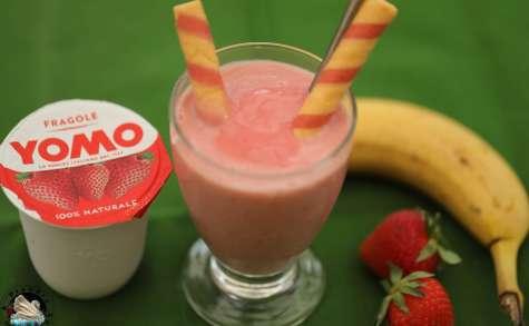 Glace minute fraise banane au yaourt