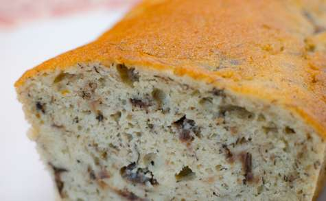 Gâteau au rhum, à la vanille et à la banane