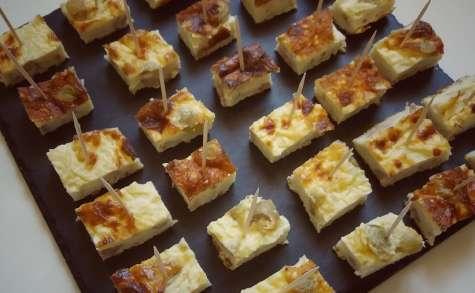 Quiche sans pâte thon, olives et ricotta